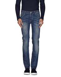 Fifty Four Denim Denim Trousers Men Blue
