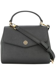 Tory Burch Top Handle Satchel Bag Black
