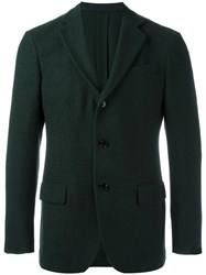 Massimo Piombo Mp Three Button Blazer Black