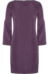 Raoul Sasha Washed Silk Top Purple