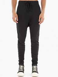 Thom Krom Black Cotton Sweatpants