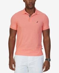 Nautica Men's Classic Fit Performance Polo Sailor Red