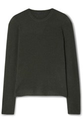 Atm Anthony Thomas Melillo Cashmere Sweater Green