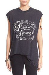 Women's Free People Graphic Muscle Tee