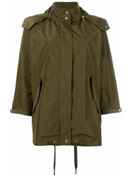 Woolrich Loose Fit Military Jacket Green