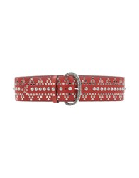 Nanni Small Leather Goods Belts Women Red