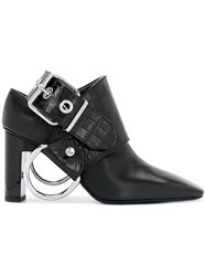 Alyx Buckle Detail Pumps Calf Leather Leather Metal Black