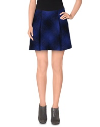 Miss Sixty Mini Skirts Dark Blue