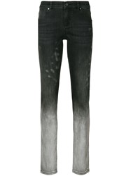Versace Jeans Bleached Skinny Jeans Grey