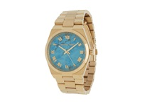 Michael Kors Mk5894 Channing Gold Turquoise Analog Watches Multi