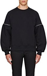 Burberry X Barneys New York Men's Juliette Studded Sweatshirt Black