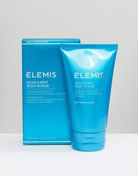 Elemis Devils Mint Body Scrub 150Ml Body Scrub Clear