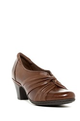 Cobb Hill Stacy Kitten Heel Brown