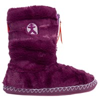 Bedroom Athletics Marilyn Faux Fur Slipper Boots Plum