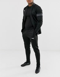 Puma Football Play Tracksuit In Black