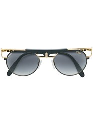 af6feee87d0 Cazal Round Shaped Sunglasses Metallic
