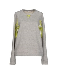 Roberto Collina Sweatshirts Light Grey