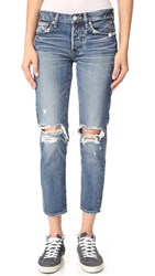 Moussy Lmv Latrobe Tapered Jeans Blue