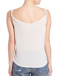 Rag And Bone Canyon Knot Tank Top Light Blue