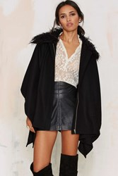 Nasty Gal Glamorous Fur Your Pleasure Cloak