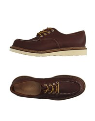 Red Wing Shoes Footwear Lace Up Shoes Men Cocoa
