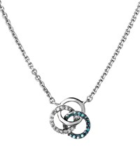 Links Of London Treasured Logo Necklace Female Silver