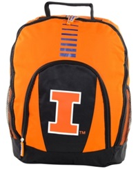 Forever Collectibles Illinois Fighting Illini Prime Time Backpack Orange