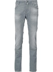 Jacob Cohen Slim Fit Jeans Grey