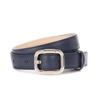 A.P.C. Merima Leather Belt Blue