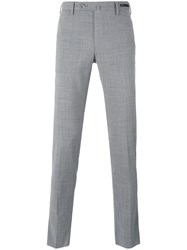 Pt01 Skinny Trousers Men Polyester Spandex Elastane Wool 54 Grey