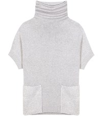 Loro Piana Grenelle Cashmere Turtleneck Sweater Grey