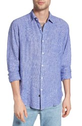 Rails Men's Connor Linen And Rayon Shirt