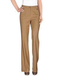 Gant Trousers Casual Trousers Women Camel