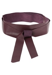 Kiomi Obi Belt Burgundy Bordeaux