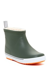 Tretorn Wings Lag Vinter Fleece Lined Rain Boot Green