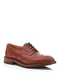 Tricker's Bourton Brogue Wingtip Oxfords Brown