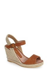 Delman 'Ronda' Espadrille Wedge Women Brown