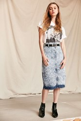 Urban Renewal Vintage Bongo Denim Midi Skirt Assorted