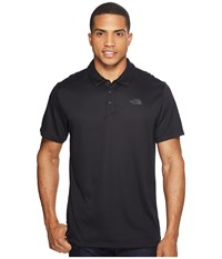 The North Face Short Sleeve Crag Polo Tnf Black Men's Short Sleeve Knit