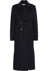 A.L.C. Emerson Double Breasted Wool Felt Coat Midnight Blue
