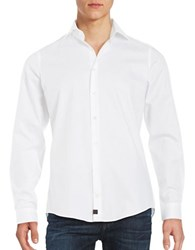 Strellson Cotton Sportshirt White