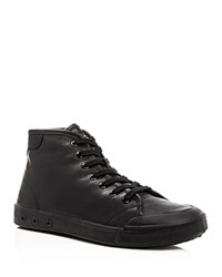 Rag And Bone Standard Issue High Top Sneakers Black