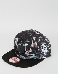 New Era 9Fifty Snapback Cap Ny Yankees Offshore Print Black