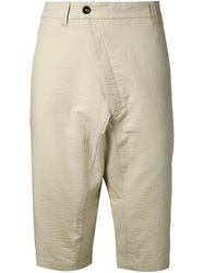 Alexandre Plokhov Crossover Shorts Nude And Neutrals