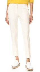 James Jeans Slouchy Trousers Crisp White