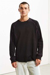 Hall Of Fame Alpha Thermal Long Sleeve Tee Washed Black