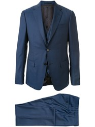 Z Zegna Fitted Three Piece Suit 60