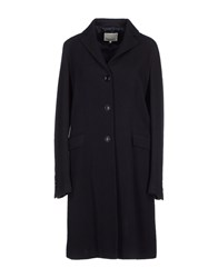 Henry Cotton's Coats And Jackets Coats Women Dark Blue