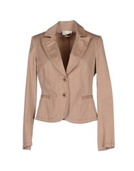 Blu Byblos Suits And Jackets Blazers Women Skin Color