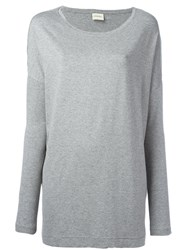By Malene Birger Alloi T Shirt Grey